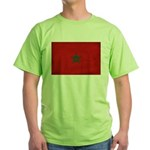 Morocco Flag Green T-Shirt
