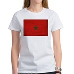 Morocco Flag Women's T-Shirt