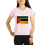 Mozambique Flag Performance Dry T-Shirt