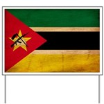 Mozambique Flag Yard Sign