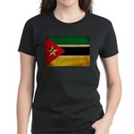 Mozambique Flag Women's Dark T-Shirt