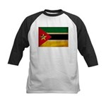 Mozambique Flag Kids Baseball Jersey