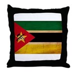 Mozambique Flag Throw Pillow