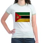 Mozambique Flag Jr. Ringer T-Shirt
