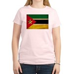 Mozambique Flag Women's Light T-Shirt