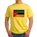Mozambique Flag Yellow T-Shirt
