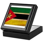 Mozambique Flag Keepsake Box