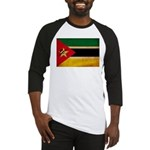Mozambique Flag Baseball Jersey