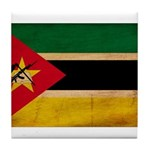 Mozambique Flag Tile Coaster