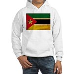 Mozambique Flag Hooded Sweatshirt