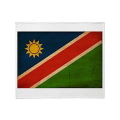 Namibia Flag Throw Blanket