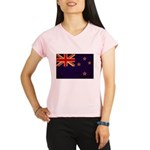 New Zealand Flag Performance Dry T-Shirt