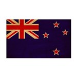 New Zealand Flag 38.5 x 24.5 Wall Peel
