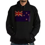 New Zealand Flag Hoodie (dark)