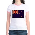 New Zealand Flag Jr. Ringer T-Shirt
