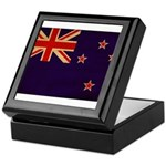 New Zealand Flag Keepsake Box