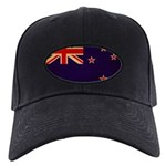 New Zealand Flag Black Cap