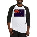 New Zealand Flag Baseball Jersey