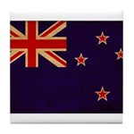 New Zealand Flag Tile Coaster
