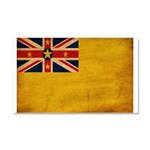 Niue Flag Car Magnet 20 x 12