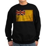 Niue Flag Sweatshirt (dark)