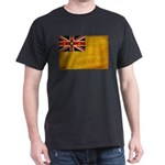 Niue Flag Dark T-Shirt