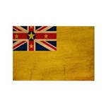 Niue Flag Rectangle Magnet (100 pack)