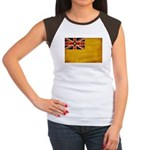 Niue Flag Women's Cap Sleeve T-Shirt