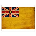 Niue Flag Small Poster