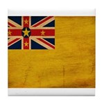 Niue Flag Tile Coaster