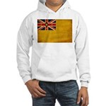 Niue Flag Hooded Sweatshirt
