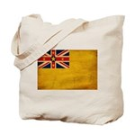 Niue Flag Tote Bag