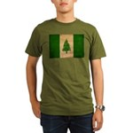 Norfolk Island Flag Organic Men's T-Shirt (dark)