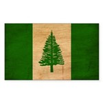Norfolk Island Flag Sticker (Rectangle 10 pk)