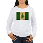 Norfolk Island Flag Women's Long Sleeve T-Shirt