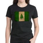 Norfolk Island Flag Women's Dark T-Shirt