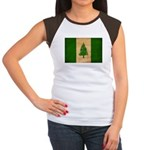 Norfolk Island Flag Women's Cap Sleeve T-Shirt