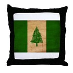 Norfolk Island Flag Throw Pillow