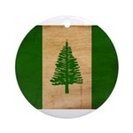 Norfolk Island Flag Ornament (Round)