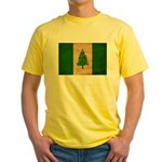 Norfolk Island Flag Yellow T-Shirt
