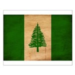 Norfolk Island Flag Small Poster