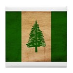Norfolk Island Flag Tile Coaster