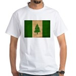 Norfolk Island Flag White T-Shirt