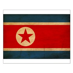 North Korea Flag Posters