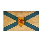 Nova Scotia Flag 38.5 x 24.5 Wall Peel