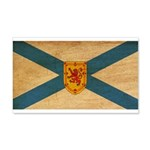 Nova Scotia Flag 22x14 Wall Peel
