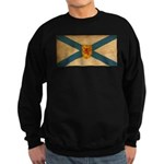 Nova Scotia Flag Sweatshirt (dark)
