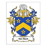 Van Neck Coat of Arms Small Poster