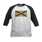 Nova Scotia Flag Kids Baseball Jersey