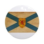 Nova Scotia Flag Ornament (Round)